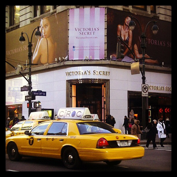 The first brand that inspired my dreams, Victoria's Secret.