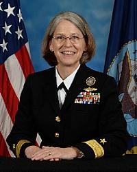 Rear Admiral Linnea Sommer-Weddington
