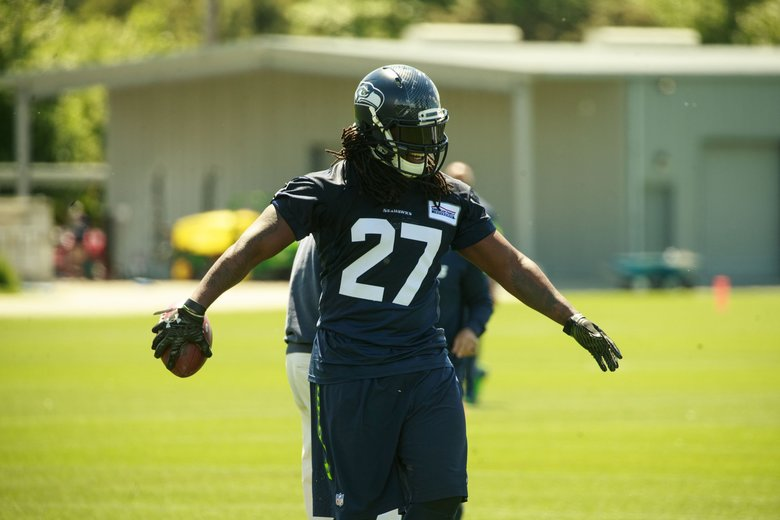 Eddie Lacy slimmer with Seahawks