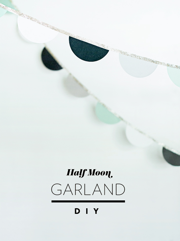 Half Moon Garland DIY Mara Dawn
