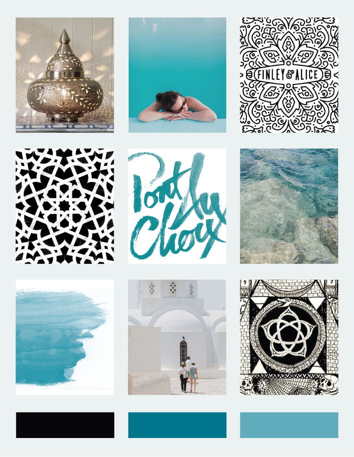 Restoration & Relaxation Mood Board + Mara Dawn