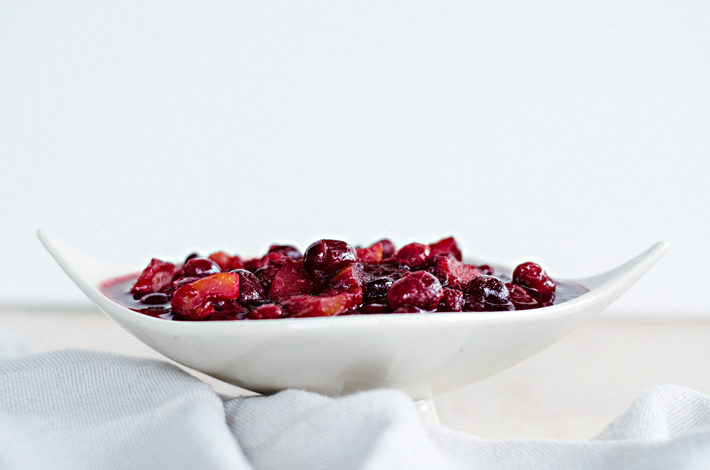 Cranberry Apple Sauce Recipe | Mara Dawn