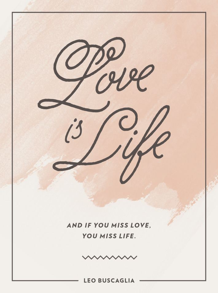 wise words love is life mara dawn