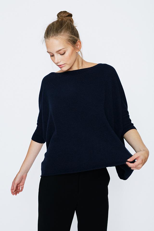 Lisa Poncho Sweater