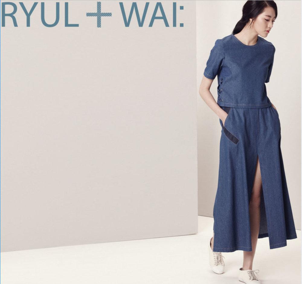 RYUL + WAI:   The Creativity; Blended to meet contemporary needs