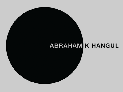 ABRAHAM K HANGUL