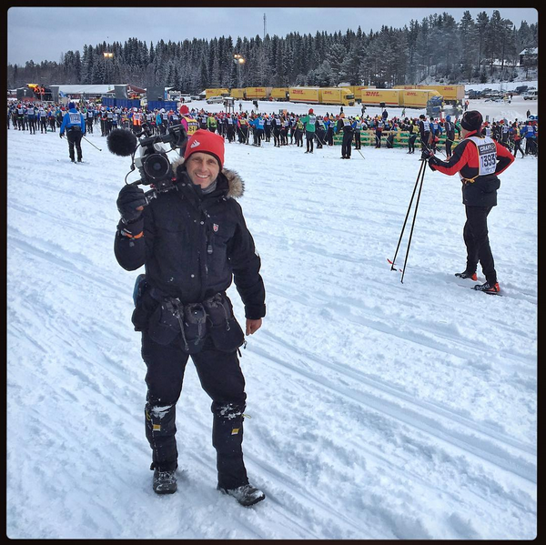 A very chilly dawn to the day, at the starting area with 15,000 competitors. Truly epic.