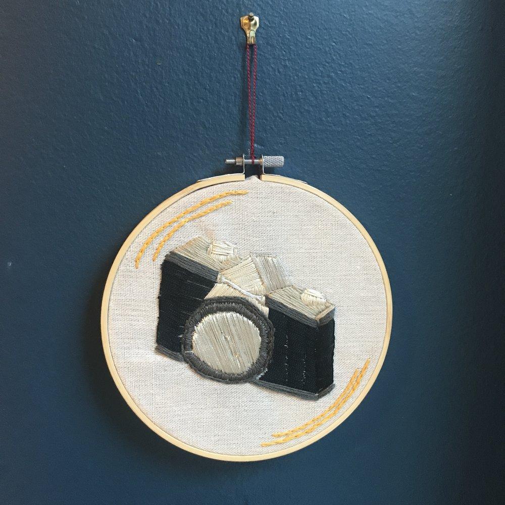 Vintage film camera (front)...