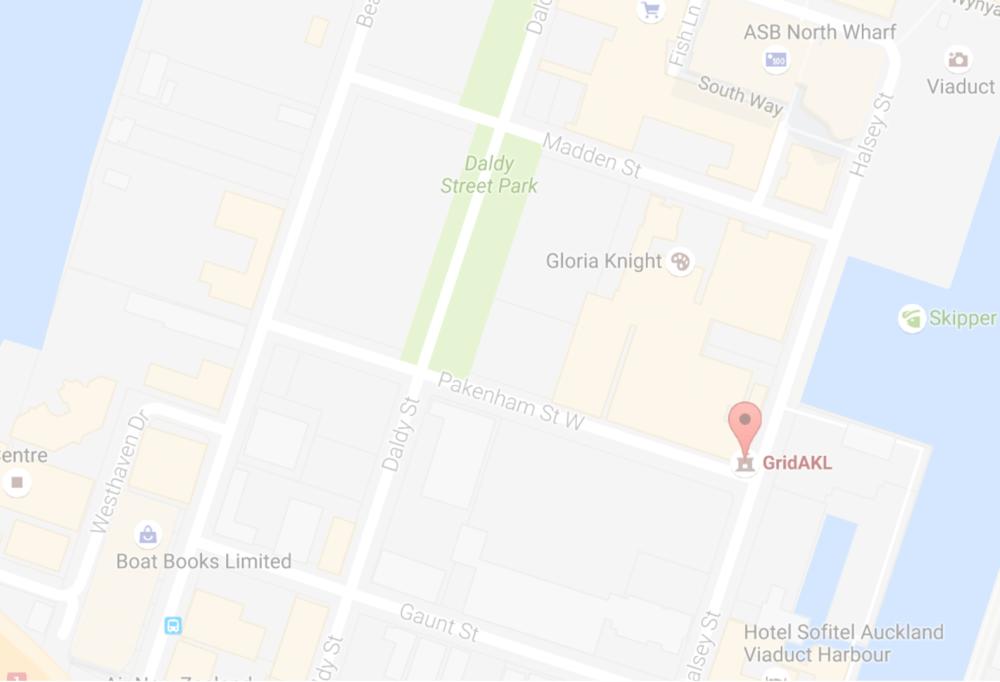 AUCKLAND OFFICE GridAKL 101 Pakenham St West Auckland, 1010 (+64 9) 889 6024