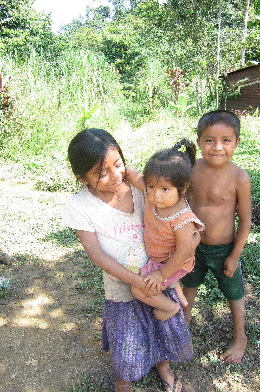 Children of Piedras Blancas