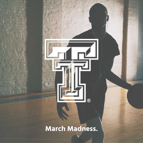 Texas Tech/March Madness:   Passionate fans from around the globe told the March Madness story with a reply rate of 15%