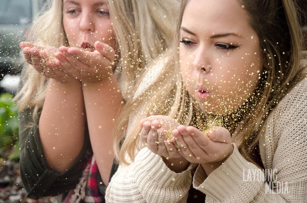 Glitter mania.