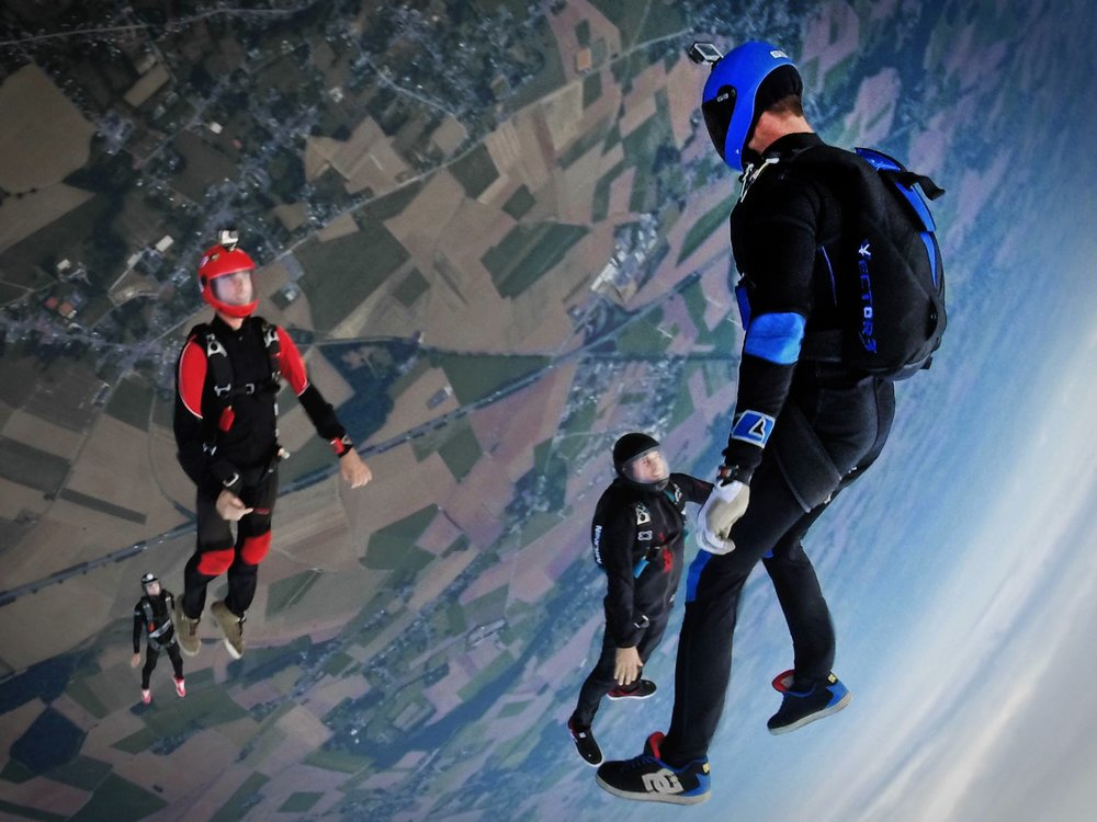 Skydiving GoPro