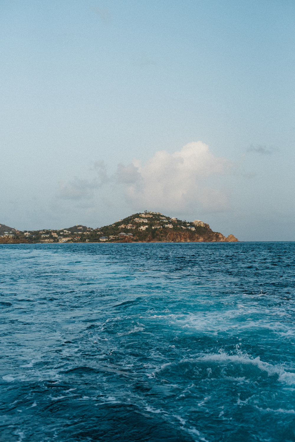St. John from the trans-island ferry.