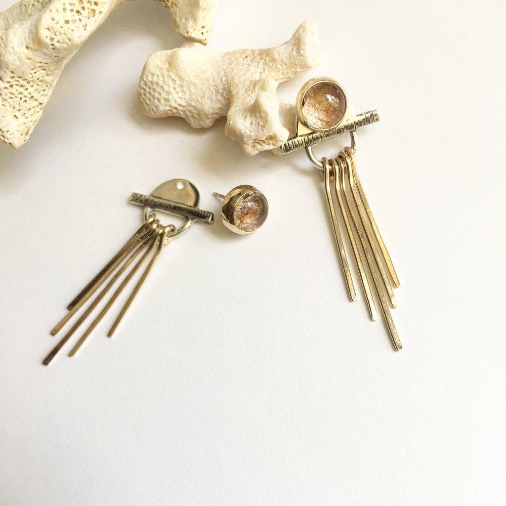 LUXE tassel earrings