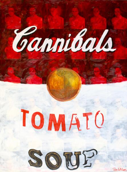 Cannibals (30 x 40)