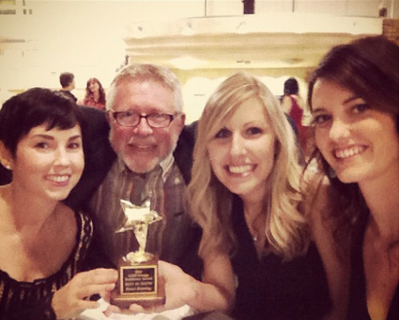 Kerry, Bruce, Miche, and Ericka at the ASID Awards (2012)