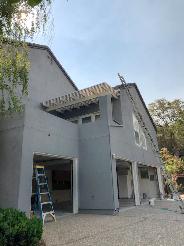 Exterior painted by LRC