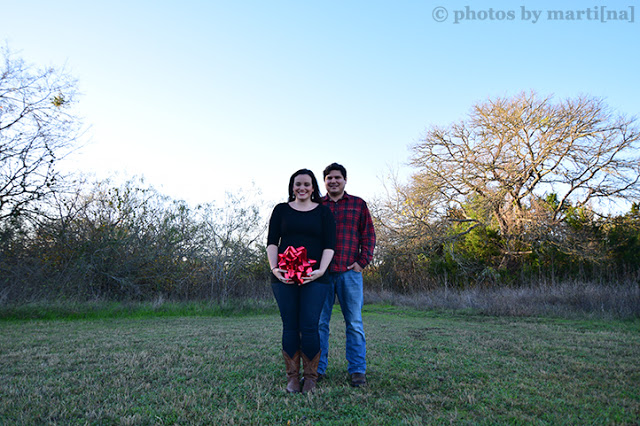 Austin pregnancy announcement photography