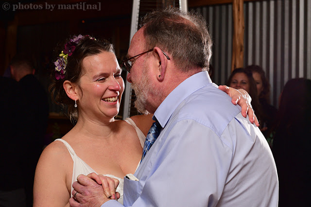 Thomas & Randi Wedding: Father / Daughter dance