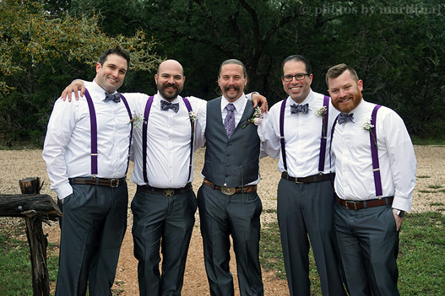 Thomas & Randi Wedding: The groomsmen