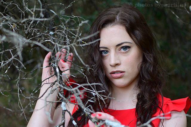 Photos by Martina: Austin portrait photography of Melina Nova