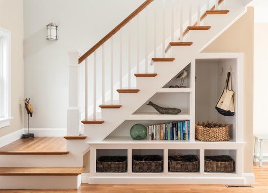Shelves + Cubbies