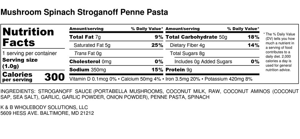 Good Source of Dietary Fiber  Good Source of Protein  Good Source of Iron   *Note - Approximately 1.25 cups of cooked penne noodles within one package