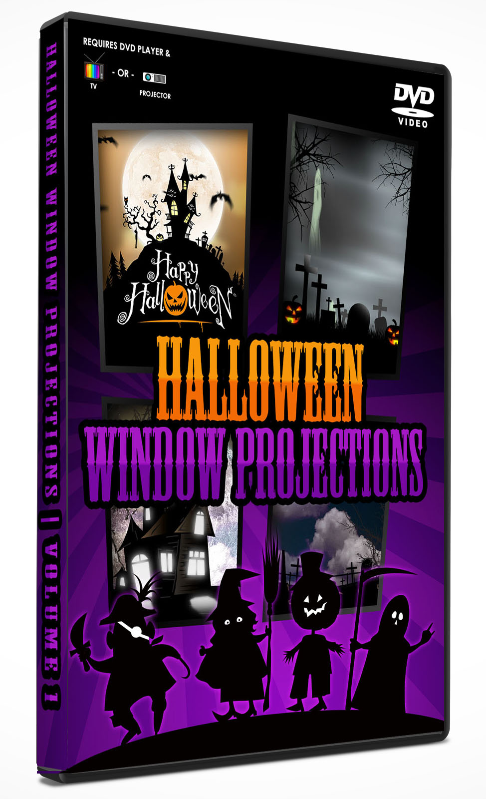 halloween animations and after effects templatesholiday-video-stock