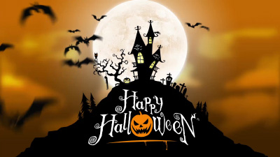 happy halloween hd animation