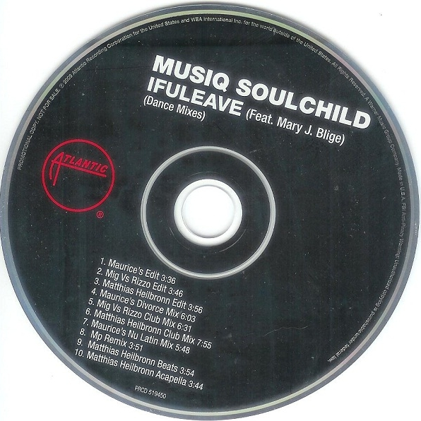 "Musiq Soulchild ft. Mary J. Blige   ""If U Leave (MP Remix)"" (2009)  • Remix Production, Mixing"