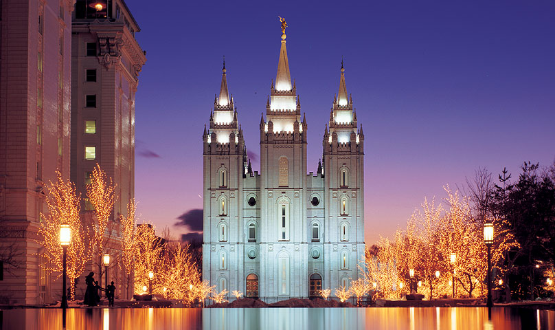 Regardless of what you think of Mormons, their temple is sick.