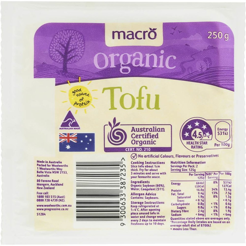 Woolies macro brand is the best tofu in my opinion!