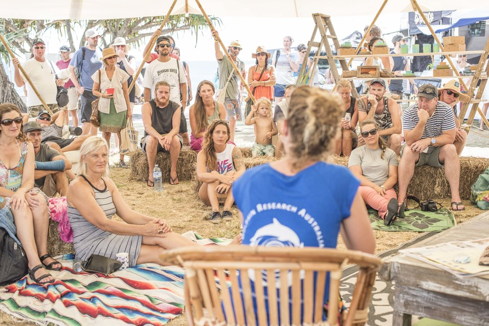 SHAKA YURT   9:30am Start Surf Art Markets     FREE EVENT    8-9am YOGA - Vinyasa Flow    9-10am YOGA - Acro    10-10:30am Yoga Philosophy    10:30-11am SEA BIN with Pete Ceglinski    11am-12pm Allpress Coffee Workshop    12:15-12:45pm Chrystal Dawn & Malia Rouillon - Protect the Reef.     12:45-1:30pm Beyond Litmus - Andrew Kidman & Jon Frank Q&A    1:30-2pm Ecoboards with Bryan Bates & Tom Wegener    2-2:30pm Adventure Vehicle with Jay Nelson     2:30-3pm   Dr Rebecca Olive. Womens Surfing in Byron Bay    3-3:30pm Hemp Revolution with The Hemp Temple    3:30-4pm One Wave Talk
