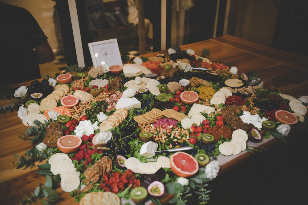 The Poor Girl's Pantry tasty spread at Surf Legend's Lounge Photo by Gabe Ryan @guppadie
