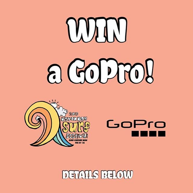 GoPro have given us a brand new GoPro HERO7 Silver to give away to one very lucky person!!😜 Swipe to see the goods and what it can produce!! . . Tag 2 friends in comments then hit the link in bio and fill in our 2 minute BBSF 2019 survey. Winner drawn from survey next Wednesday at 8pm. Check here then!🤙🏽 . . #goprohero7 #gopro #GoProANZ #goprosurf . #bbsf2019 #byronbaysurffestival #surfculturenow