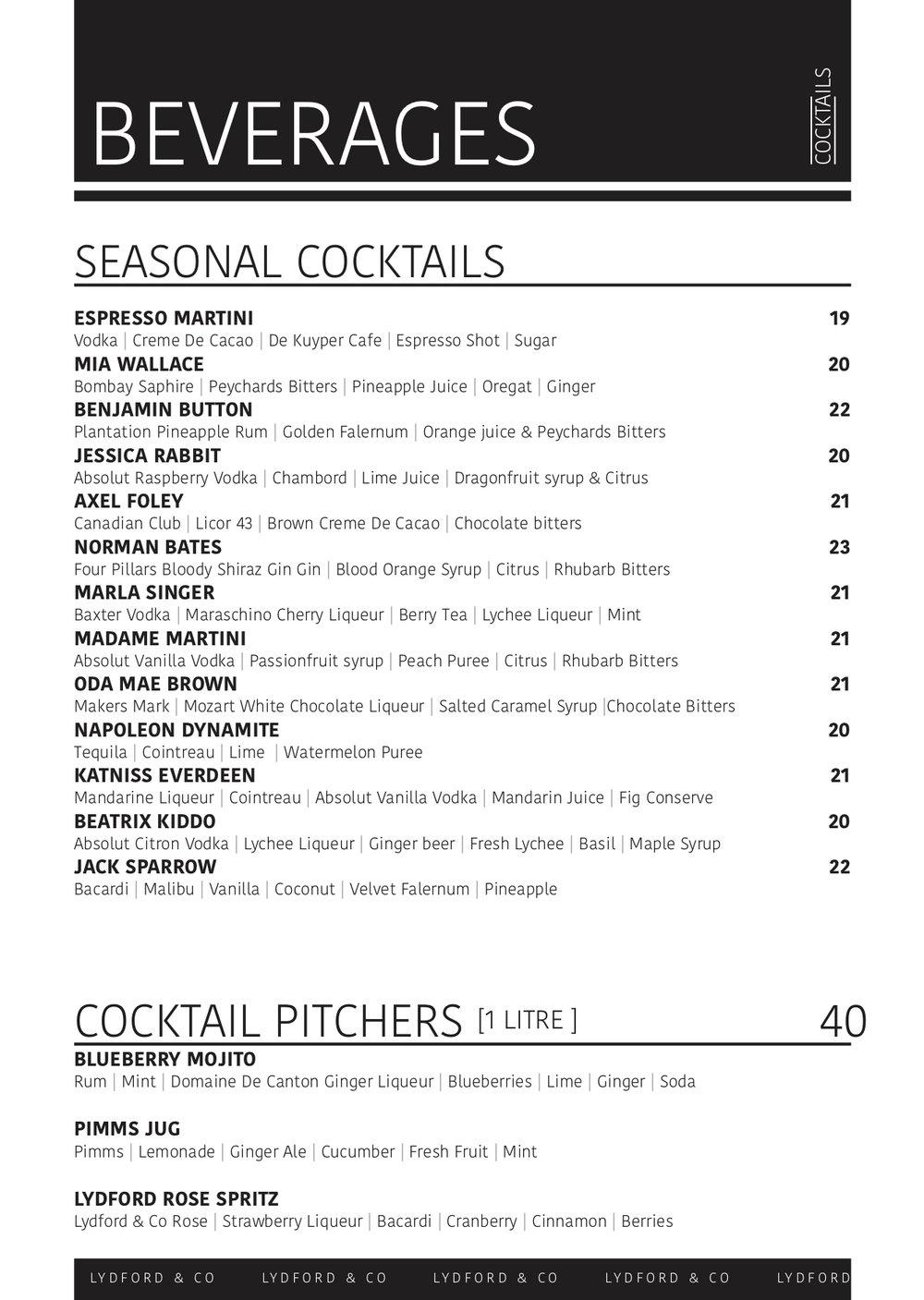 Lydford Cocktail Menu February 2019.jpg