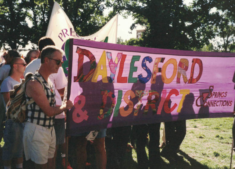 Part 1: The Beginnings - Daylesford in the mid-1990s was home to an increasing number of gay men and lesbian women. Attracted by the beautiful bushland environment, and a community that was often quite welcoming, these men and women worked hard to make Daylesford a vibrant and viable place to live.
