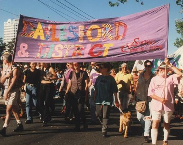 1996 - The idea for a gay and lesbian event held in Daylesford over the Labour Day long weekend in March is first proposed at a meeting of the Springs Connections committee.