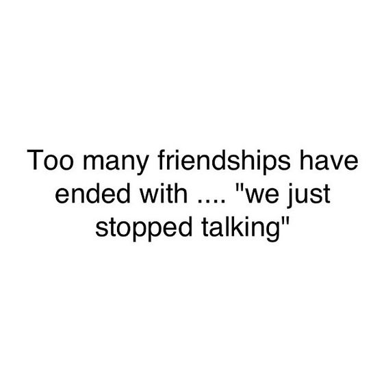 friendship ghosting quotes