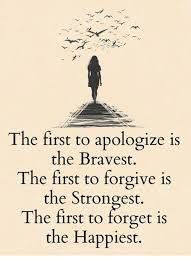 the first to apologise is the bravest.jpg