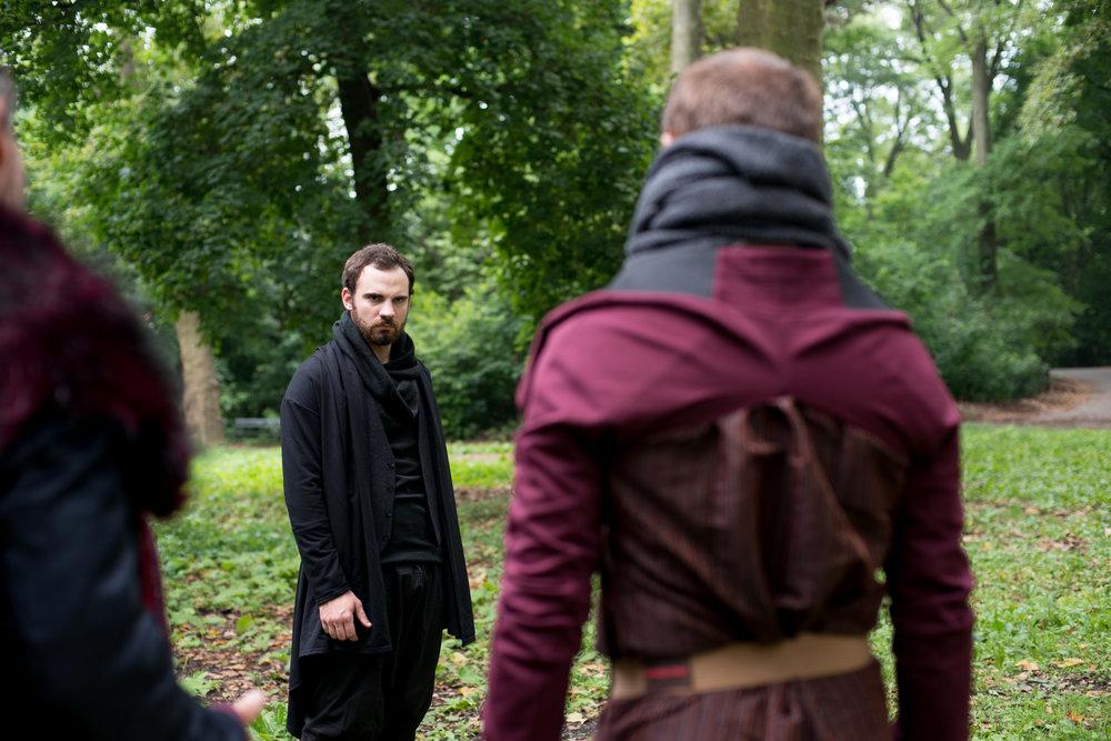 Jake Austin Robertson as Hamlet
