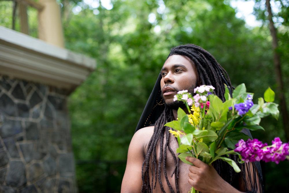 Marcus Stewart as Ophelia