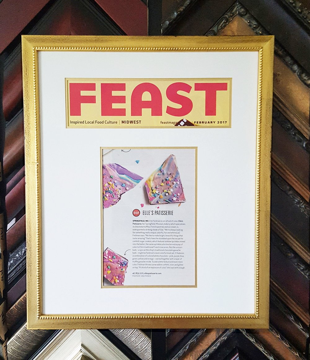 Elle's Patisserie Feast Magazine