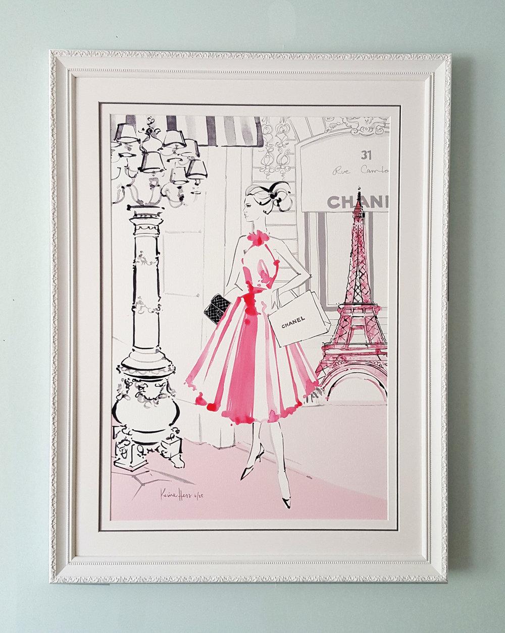 Paris en Rose Kerrie Hess