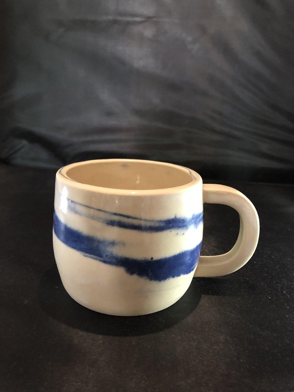 Blue Marble Ceramic cup