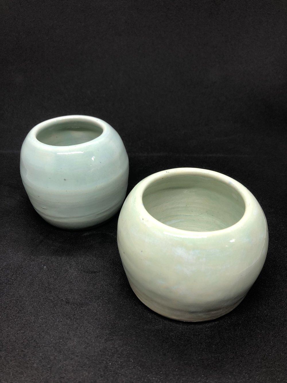Turquoise Ceramic Cups