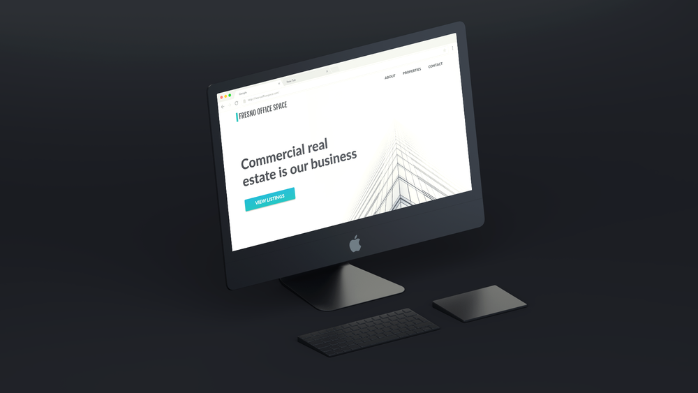 Fresno Office Space Landing Page -