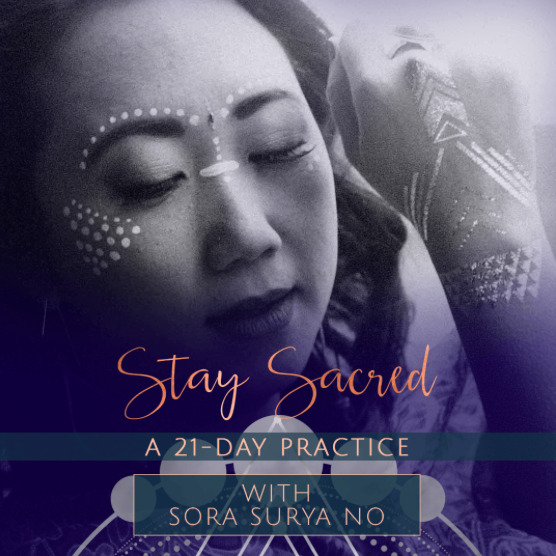 Stay Sacred: a 21-day practice- Runs August 21-September 10 Stay Sacred: LIVE Ceremony Tuesday, Sept 12th at 1pm EDT (NY) Wed, Sept 13th at 7pm EDT (NY) Sacred Circle Foundation Enrollment Begins Tues, Sept 12th (2PM EDT) Early Tuition Discount Ends Tues, Sept 19th (7PM EDT) Enrollment Ends Fri, Sept 29th (7PM EDT)  CLICK HERE TO ENROLL