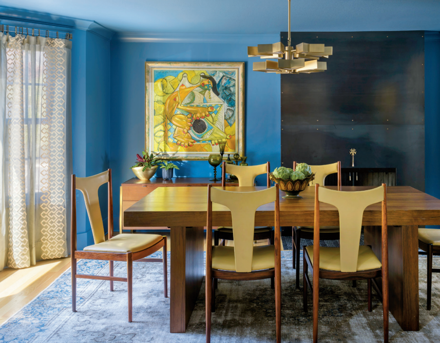 Draperies featured in  Luxe Interiors + Design Magazine, April 2018